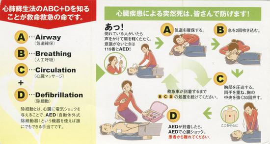 第一製薬発行-心肺蘇生法abc-d-カード